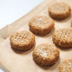 Healthy Tahini Sesame Cookies