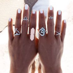 Elise Ring Set