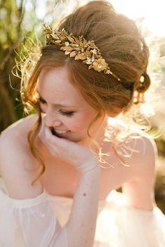 loose high updo bridal haistyles