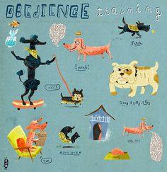 """Obedience training"" by Stephanie Birdsong, shoulda-woulda-coulda"