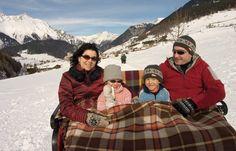 Kutschenfahrt für die ganze Familie Winter Jackets, Projects, Kids, Winter Coats