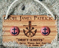 Add a little pink to your day with a pair of Kiel James Patrick anchor earrings! Made in USA!