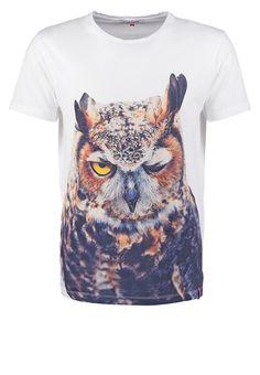 French Kick T-shirt con stampa - white a € 30,00 (13/11/15) Ordina senza spese di spedizione su Zalando.it