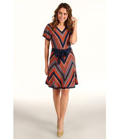 black chevron dress, comes in brown too