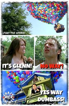 TWD/Up mashup. Lololol that's perfect