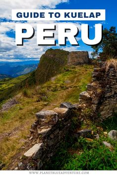 Are you planning to travel to Peru? Discover the best things to do in Kuelap for an unforgettable vacation in Peru! This guide to Kuelap explores awesome historic sites in Peru - a Machu Picchu alternative, essential travel tips and where to stay! I things to do in Peru I South America travel I places to go in Peru I alternative to Machu Picchu I ancient sites in Peru I Peru travel tips I where to stay in Peru I Kuelap travel tips I places to go in South America I #Peru #Kuelap