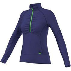 Adidas Women`s Ultimate Half Zip Jacket