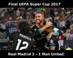 Kemenangan Laga Super Cup Berkat Isco dan Casemiro (Real Madrid 2 - Man United 1)
