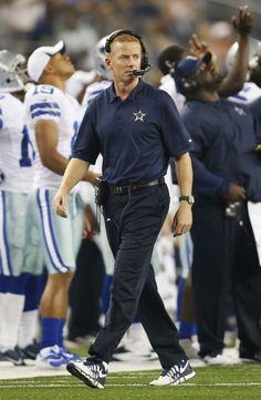Dallas Cowboys Head Coach Jason Garrett