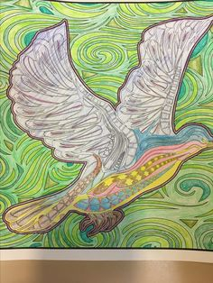 Pendleton Public Library Adult & Teen Coloring Club. A gift from a new friend!