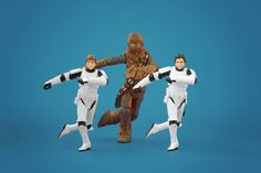 we once made a gif just like this! star wars troopers make great dancers...