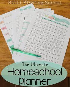 Still Playing School: Homeschool Planning Giveaway Tot School, School Teacher, Philosophy Of Education, Lesson Planner, Home Schooling, Homeschool Curriculum, Kids Education, Giveaway, Studio