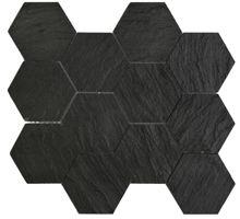 IOT BLACK SLATE HEXAGON 10X10 | Laajin valikoima kylppäri-ideoita - Laattapiste KylpyhuoneetLaattapiste Kylpyhuoneet