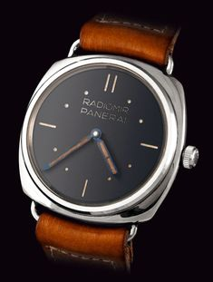 First Panerai prototype made by Rolex
