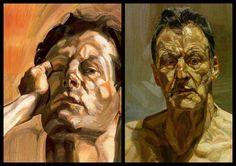 Lucian Freud Collection V (self-portrait)