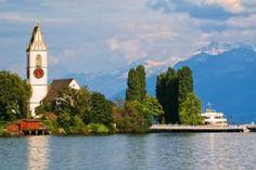 Meilen Zürichsee, Region Zürich, Schweiz