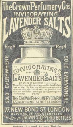 Free Printable - Vintage Lavender Advertisement | LuckyScarf