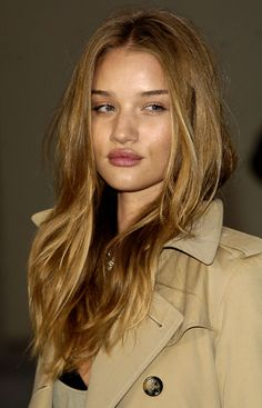 pretty natural brown with blonde highlights