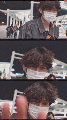 200118 airport V Kim Taehyung Tae boyfriend lockscreen wallpaper Cr. ATOZ_V Taehyung Selca, Bts Jimin, Daegu, Foto Bts, V Bts Cute, Images Gif, V Bts Wallpaper, Twitter Bts, Bts Aesthetic Pictures