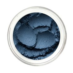 Love this deep, true blue. Pure & Natural Mineral Eye Color Pigment by Noella Beauty Works.