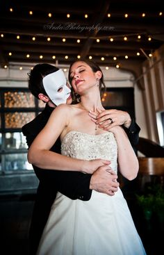 "elegant ""Phantom of the Opera"" wedding theme: Anda Photography 2012"
