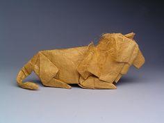"""Lion, opus 365"" by Robert Lang"