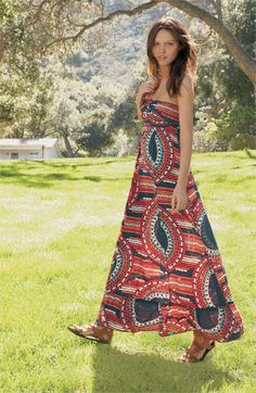 I'd like to find a maxi dress that doesn't stop at my mid-calf. That would be wonderful.