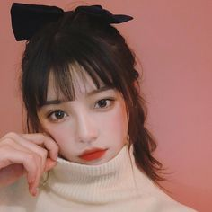 Image may contain: 1 person, closeup Ulzzang Hair, Ulzzang Korean Girl, Korean Beauty Girls, Kim Sun, Jung Yoon, Grunge Girl, Ulzzang Fashion, Korean Makeup, Hey Girl