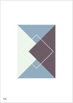 Krøj grafisk plakat designet af mediegrafiker Karina Krøjgaard. Format: A4 (210x297 mm) Papir: 170 g silk Oplag 30 stk. Pris: 100 kr. ekskl. fragt www.kroej.com