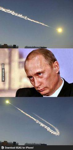 Putin being Putin