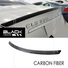 EURSPEC CARBON FIBRE REAR TRUNK SPOILER FOR MEREDES BENZ CLS CLASS W219 AMG WING