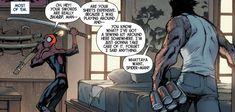 Spider-Man and Wolverine (from Savage Wolverine #6)