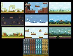 10 Game Background #01 by cruizRF on @creativemarket