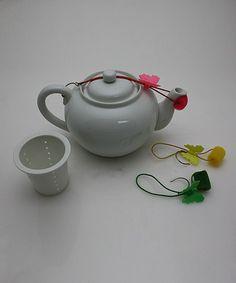 Loving this Porcelain Teapot Set on #zulily! #zulilyfinds