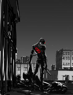 Daredevil by samliu on DeviantArt Marvel Comics, Arte Dc Comics, Marvel Vs, Marvel Heroes, Comic Book Characters, Comic Character, Comic Books Art, Comic Art, Marvel Universe