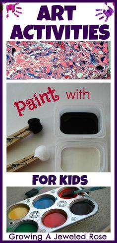 Art Activities for Kids  -supplemental activities