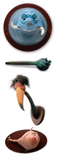 Taxidermy Renderings of Dr. Seuss' Fantastical Beings