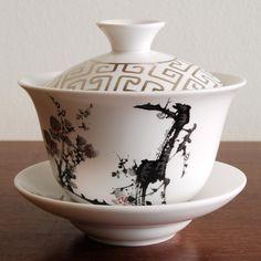 Gaiwan tea bowl with lid