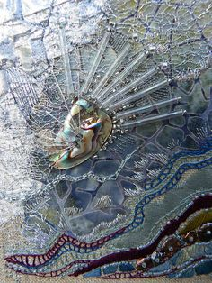 Textile art by Carol Walker
