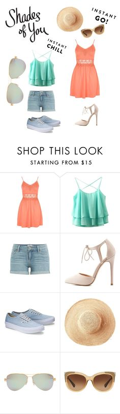 """""""Shades of You: Sunglass Hut Contest 2"""" by xrainbowsprinklesx ❤ liked on Polyvore featuring Topshop, Paige Denim, Charlotte Russe, Toast, Tiffany & Co., Coach and shadesofyou"""