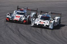Audi vs Porsche WEC 6h of Nurburg ring