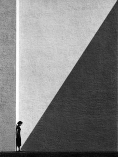 Fan Ho -Approaching Shadow, Hong Kong, Undated