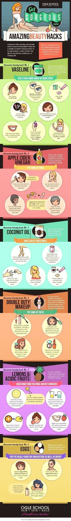10 Amazing DIY Beauty Infographics to Use Before the Wedding – MODwedding  Unconventional Beauty Secrets. The Ogle School breaks down some of the most useful beauty hacks that you can access right in your home.:  http://www.beautyfashionfragrance.us/2017/05/25/10-amazing-diy-beauty-infographics-to-use-before-the-wedding-modwedding/ #homeschoolinginfographic