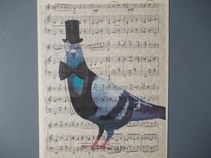 Goub in Hat Print / Print on Vintage Music Page / by EUvintage