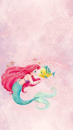 Ariel Wallpaper, Little Mermaid Wallpaper, Mermaid Wallpapers, Disney Phone Wallpaper, Cartoon Wallpaper Iphone, Iphone Background Wallpaper, Cute Wallpapers, Disney Images, Disney Pictures