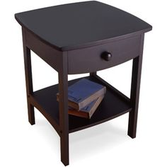 Walmart Curved Nightstand / End Table