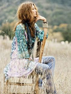 RW - Charlee led a hippie lifestyle and conformed to its looks and clothing, but it often felt like a sad replacement for true closeness to nature.