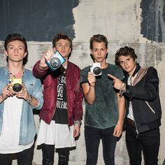 Don't forget we are giving away 3 x brand new fujiinstaxuk cameras as featured in over video 'Wake Up'. To win one, sign up here http://po.st/TVCamComp  #instaxthevamps