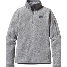 Patagonia Better Sweater 1/4-Zip Fleece Jacket - Women's Birch White L