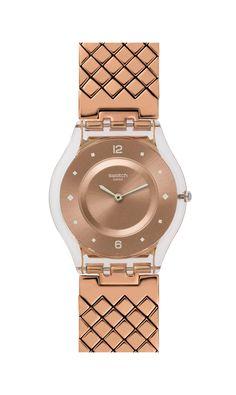 Copper watch! Swatch INCANTATA 1010 SEK
